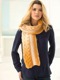 Chelsea Cable Scarf (Knit)