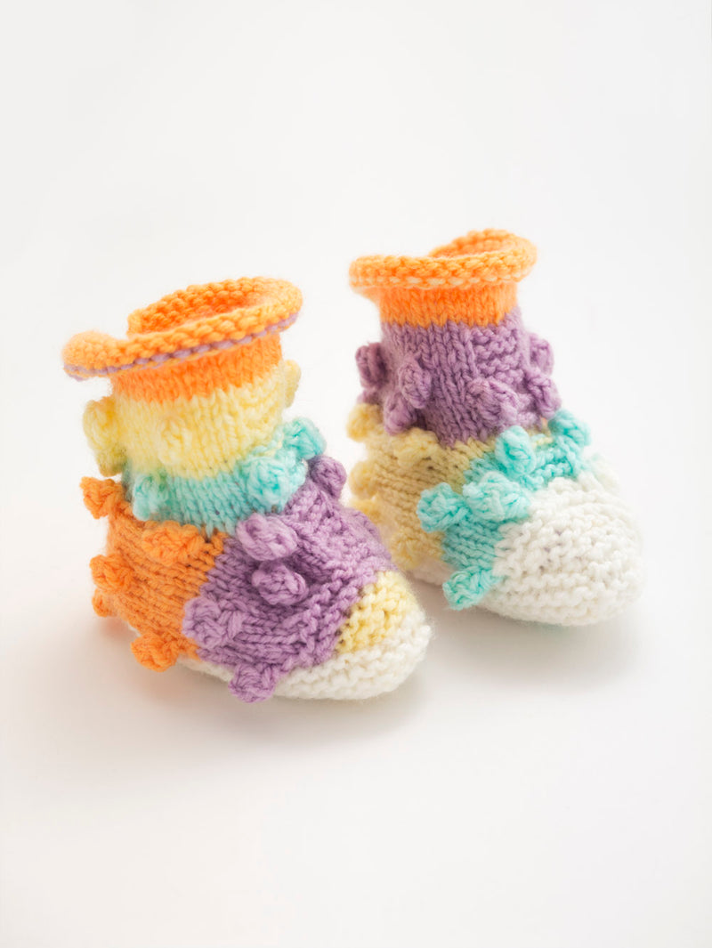 Bobble Booties (Knit)