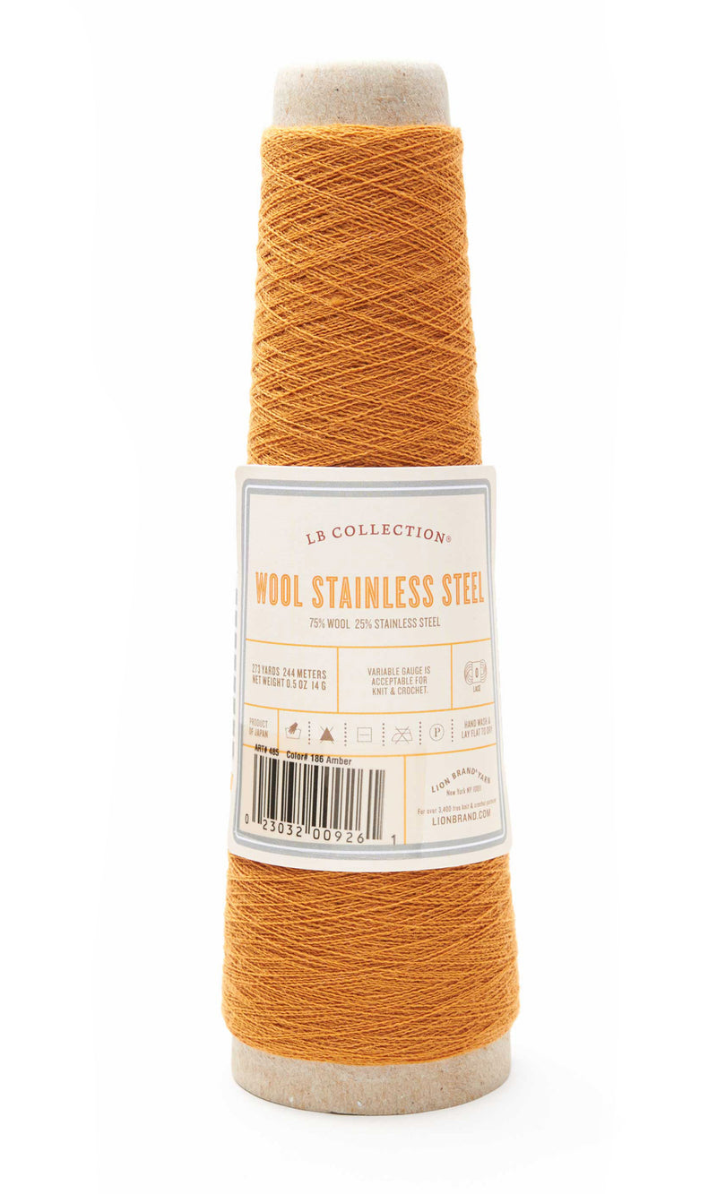 LB Collection® Wool Stainless Steel Yarn