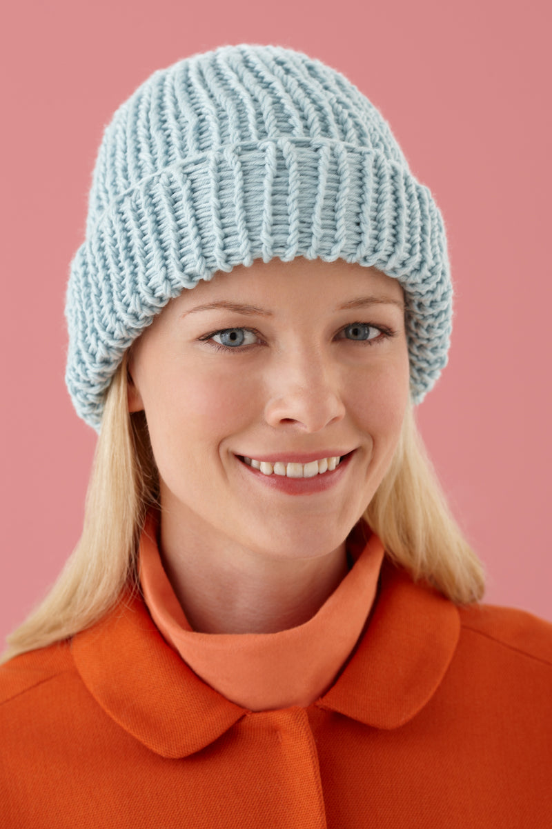 Loom Double Knit Hat