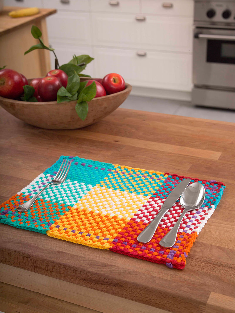 Loom Woven Placemat Pattern (Loom-Weave)