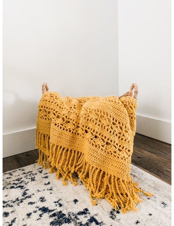 Lacy Throw (Crochet)
