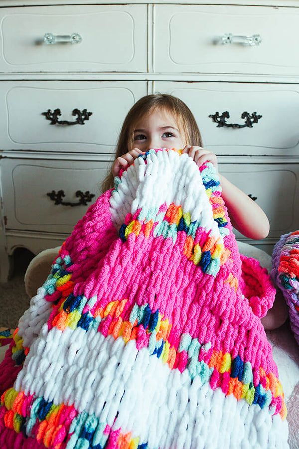 Sassy Stripes Throw