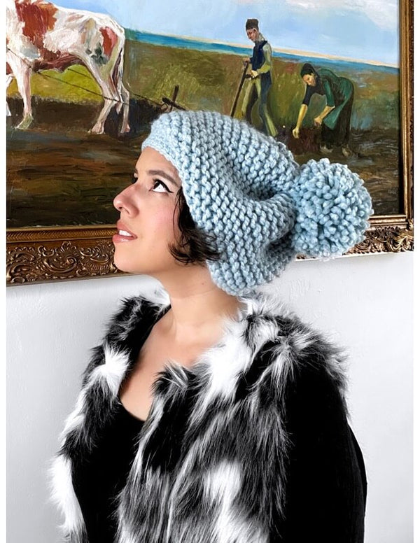Isabel Hat (Knit/Crochet)