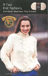 Pattern Booklet: 9 Fast Knit Fashions