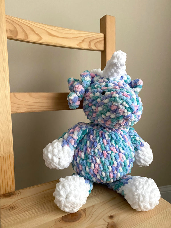 Pillow Unicorn (Crochet)