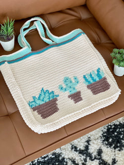 Crochet Kit - Plant Lady Tote