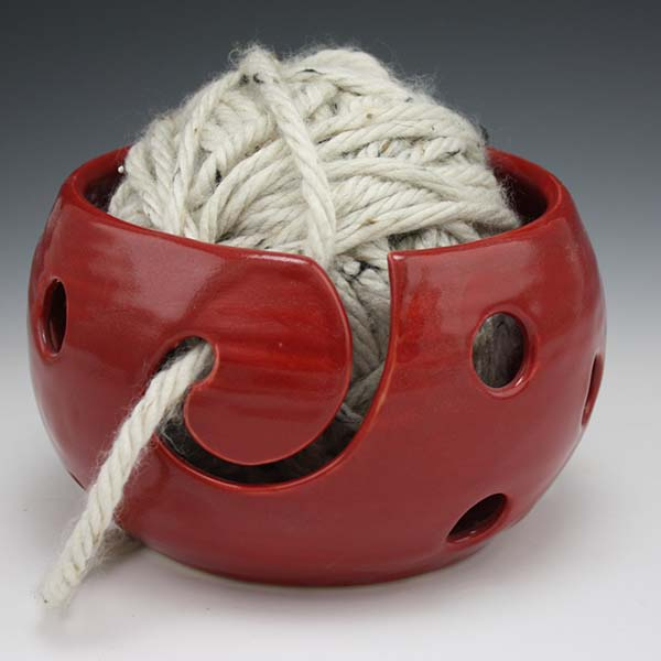 Holey Yarn Bowl