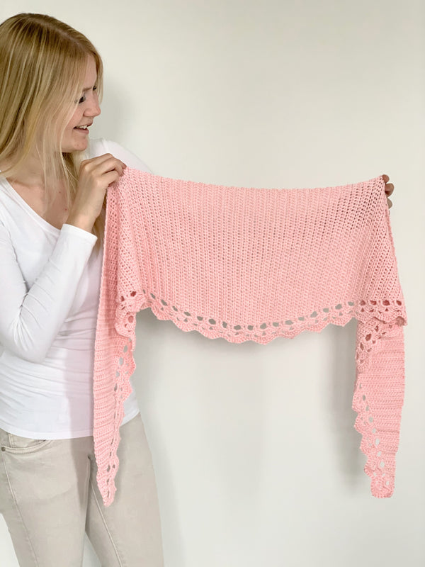 Crochet Kit - To The Point Shawl