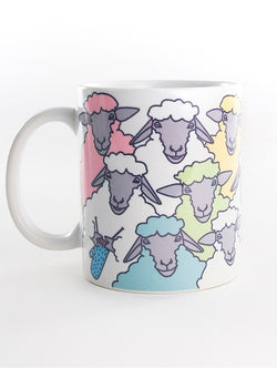 Mug: Colorful Sheep