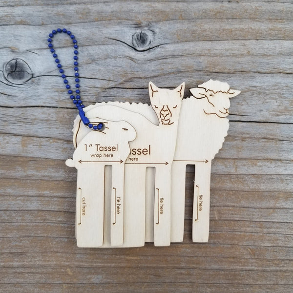 Fiber Animal Tassel Maker Set