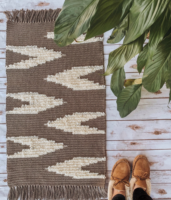 Crochet Kit - Aleida Loop Rug