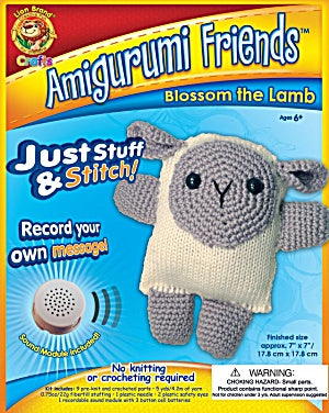 Amigurumi Friends With Sound: Blossom The Lamb