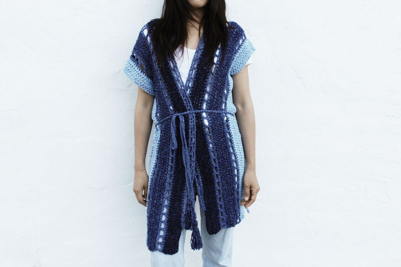 Crochet Kit - Arverne Beach Robe