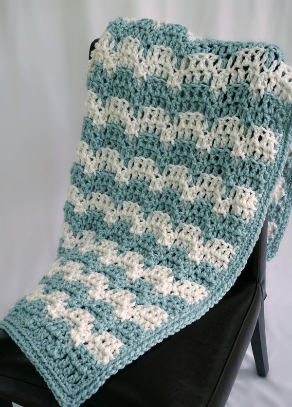 Crochet Kit - Snowdrifts Afghan