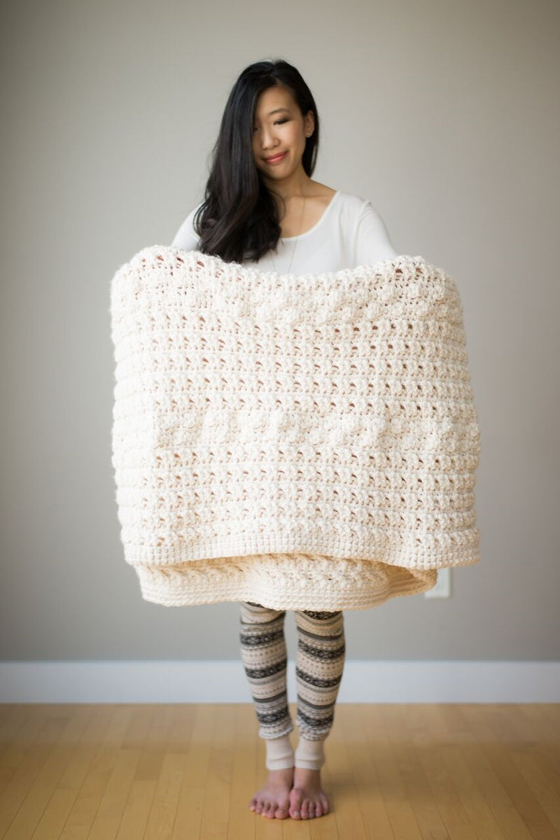 Crochet Kit - Cross Bobble Blanket