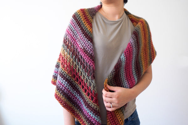 Crochet Kit - Trailhead Shawl