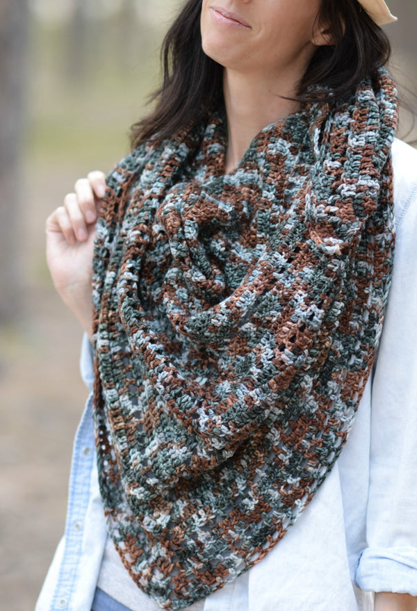 Crochet Kit - Anya Fall Scarf