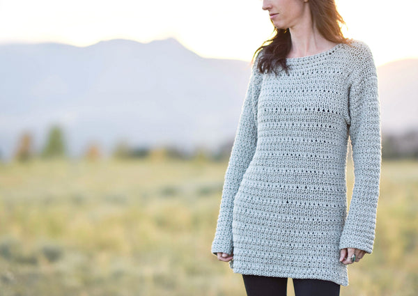 Crochet Kit - The Lakeside Pullover