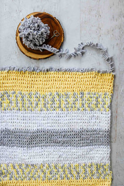 Knit Kit - Twisted Rope Blanket