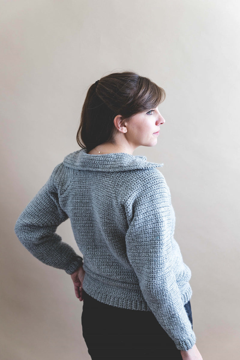 Crochet Kit - Rainier Sweater
