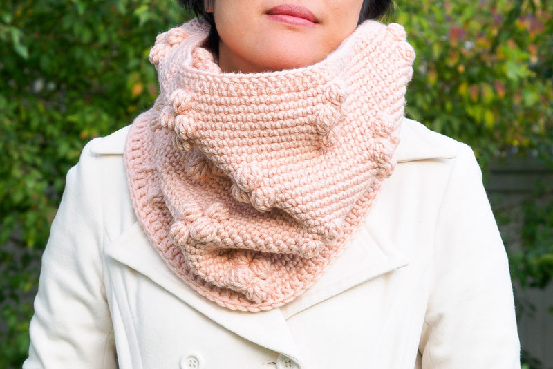 Crochet Kit - Winterberry Cowl