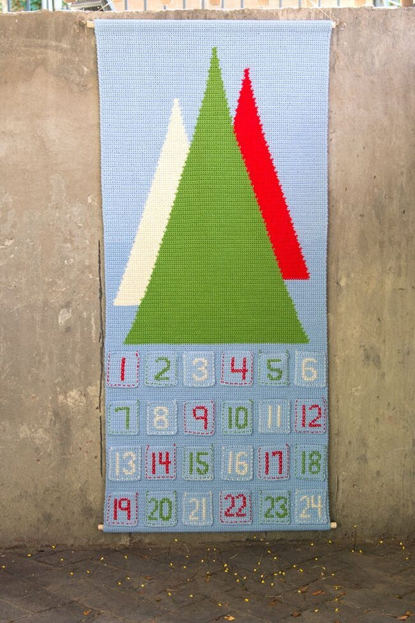 Crochet Kit - Scandinavian Advent Calendar
