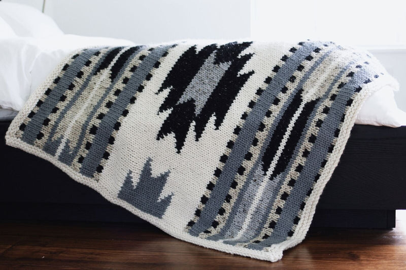 Knit Kit - Taos Lap Blanket