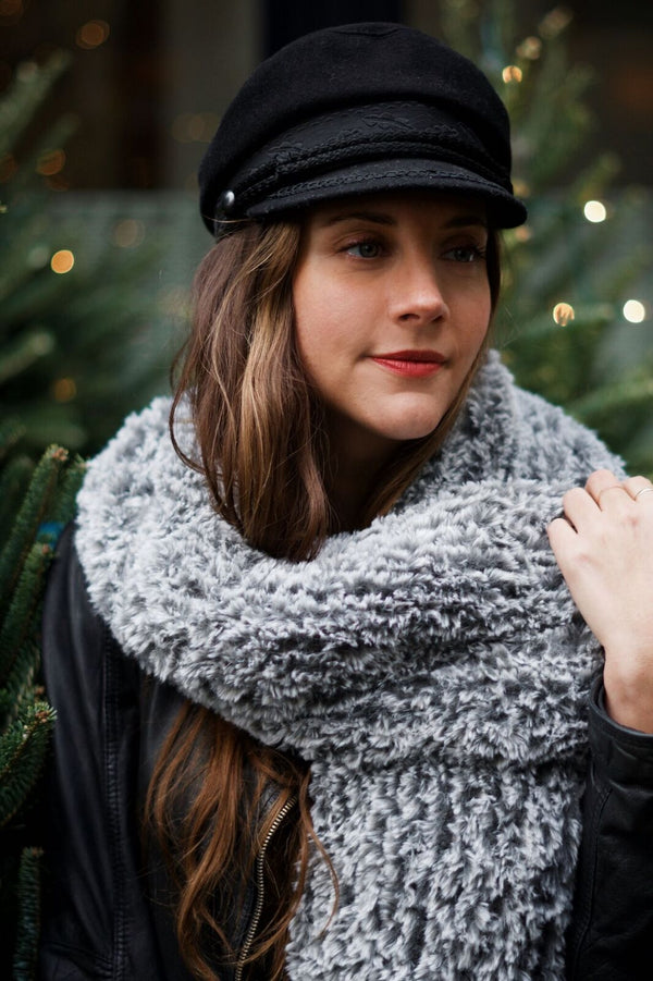 Knit Kit - Chamonix Faux Fur Collar
