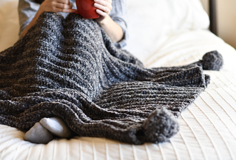 Crochet Kit - Vel-Luxe Throw Blanket