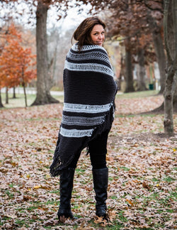 Knit Kit - Burlington Ruana