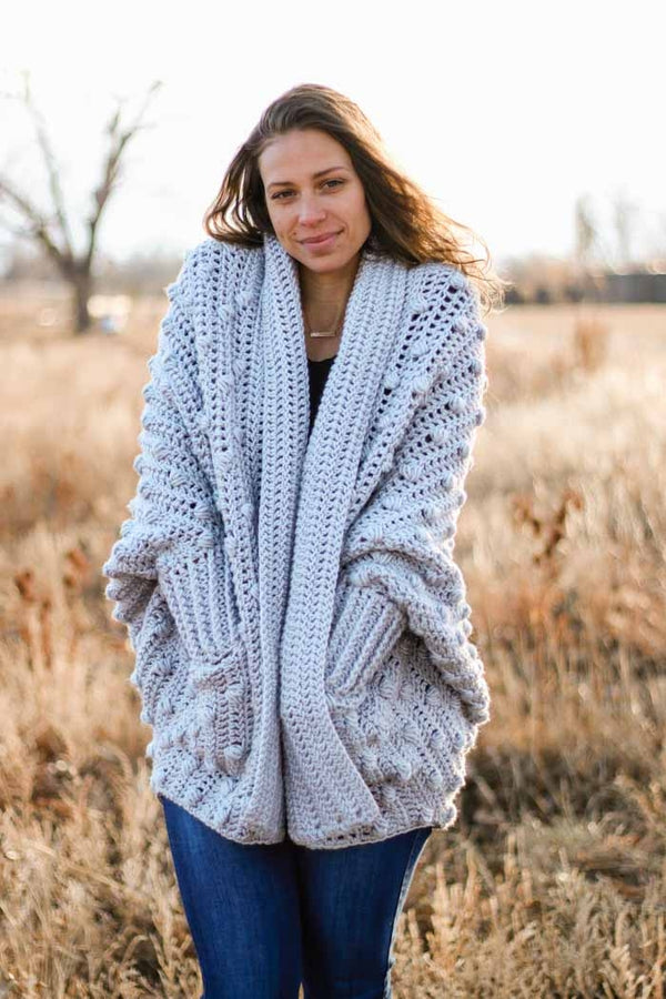 Crochet Kit - Haven Cardigan