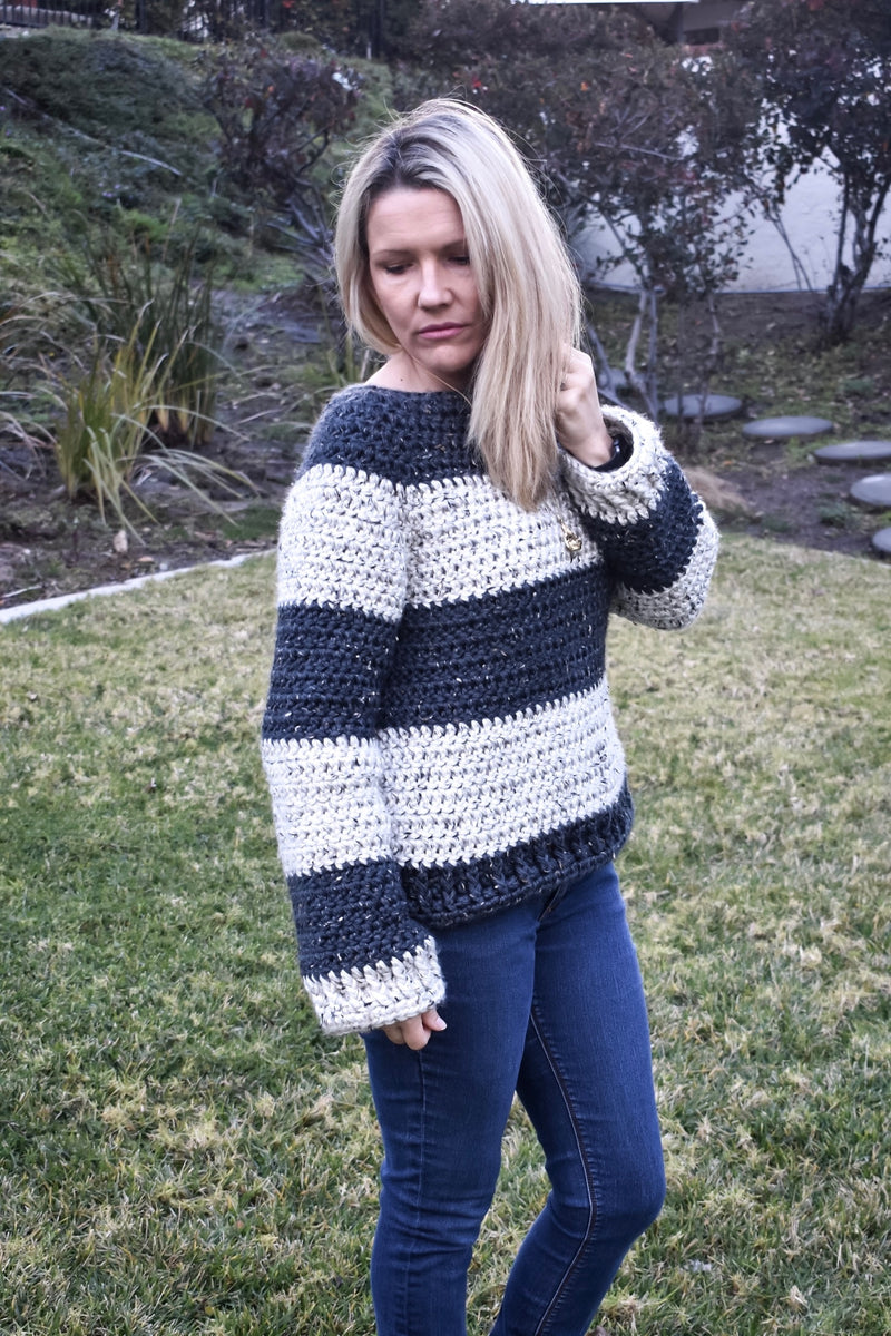 Crochet Kit - Notting Hill Sweater