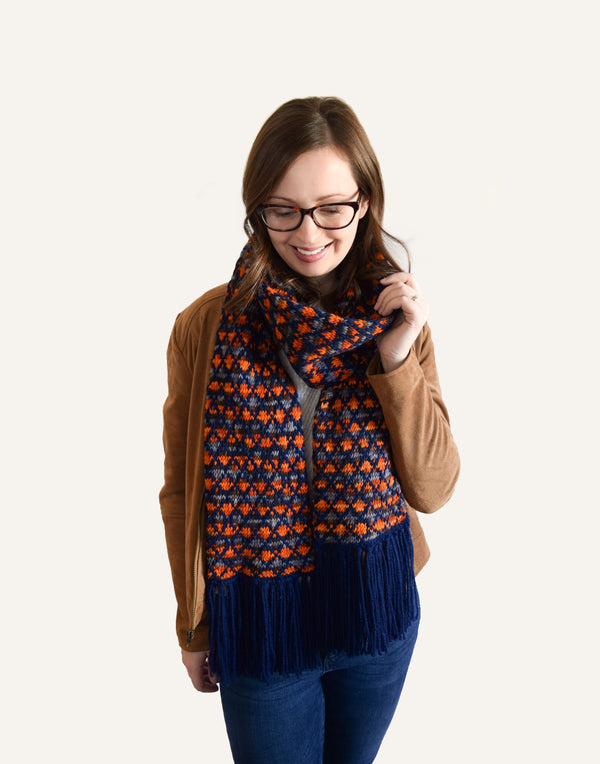 Knit Kit - Latticework Scarf