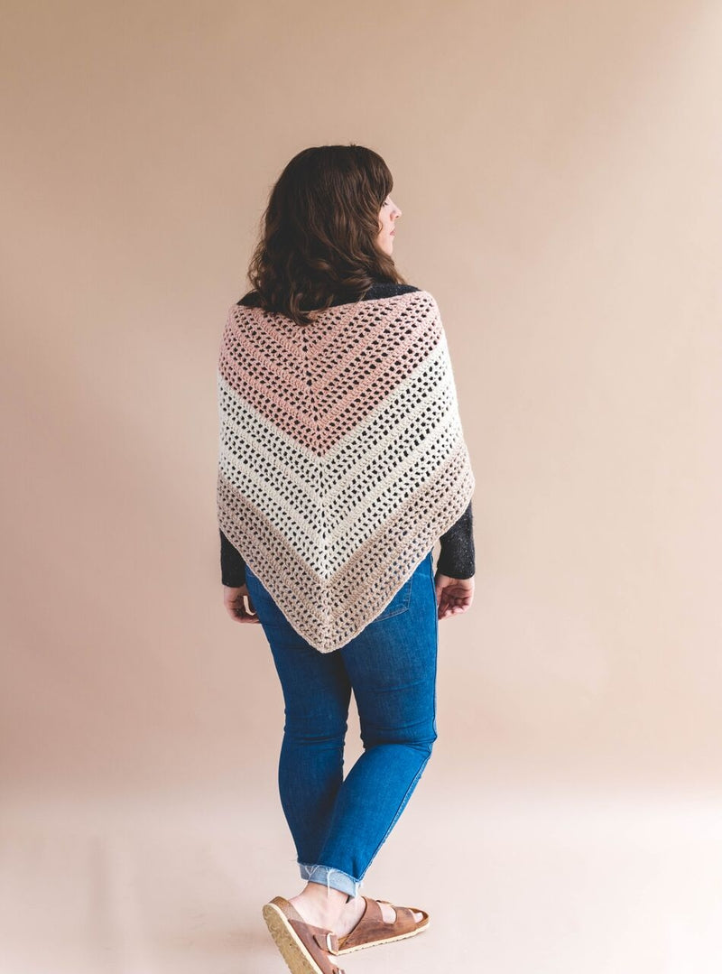 Crochet Kit - Elle Convertible Shawl