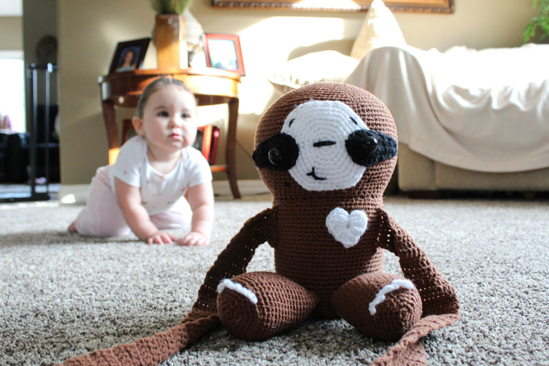 Crochet Kit - Gus the Sloth