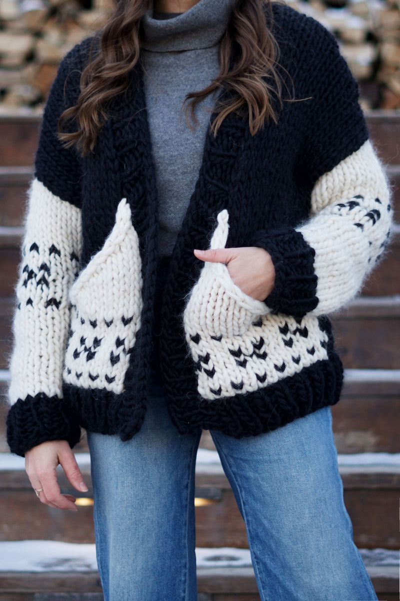 Knit Kit - Avalanche Sweater Coat