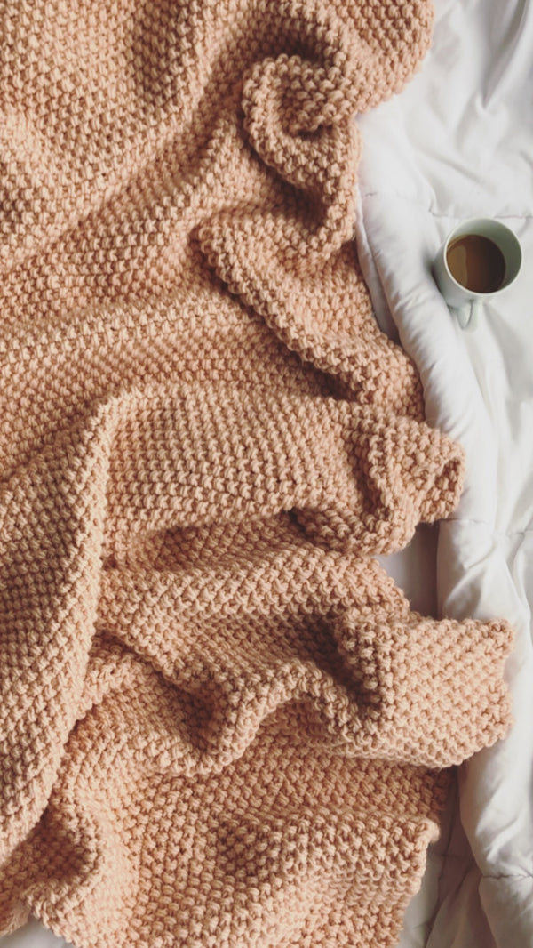 Knit Kit - The Signature Blanket