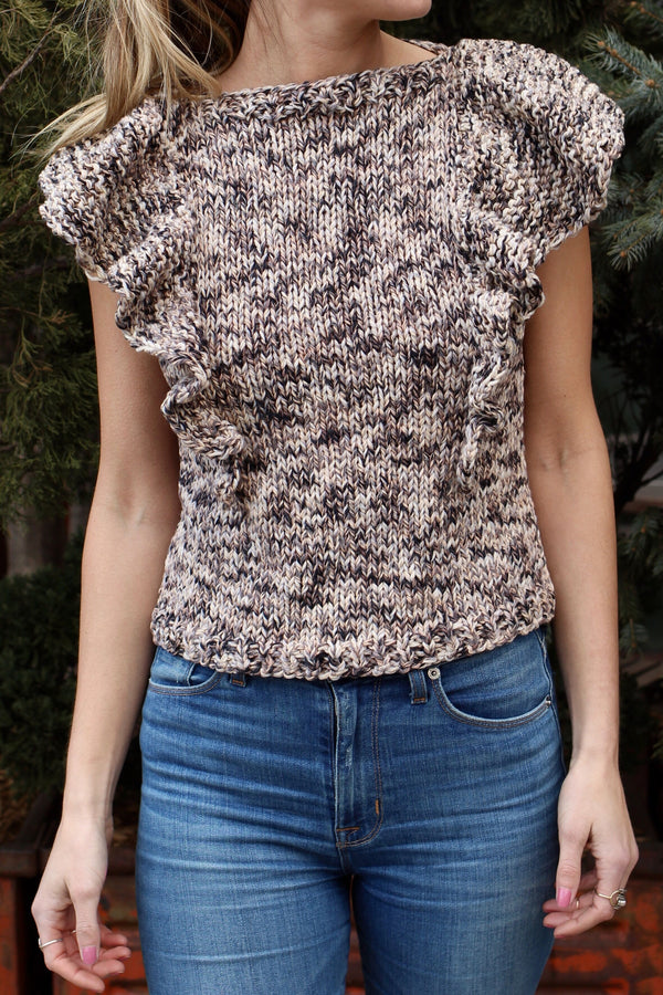 Knit Kit - Flutter Top