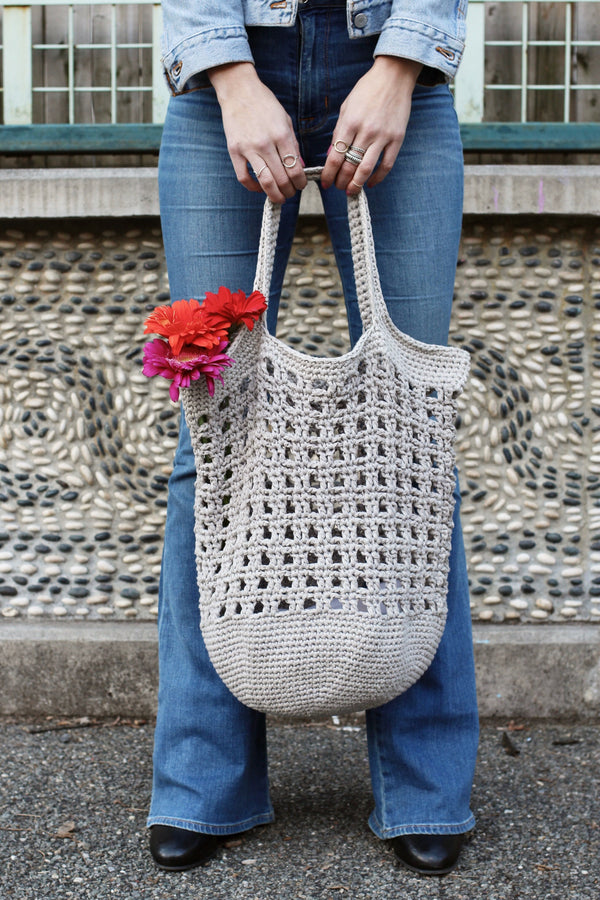 Crochet Kit - Janey Basket Bag