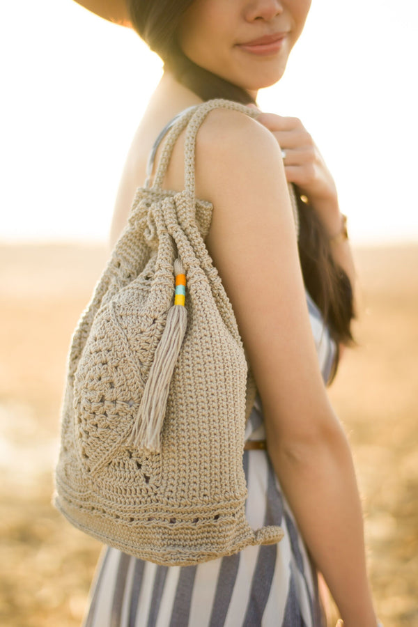 Crochet Kit - Wildrose Backpack