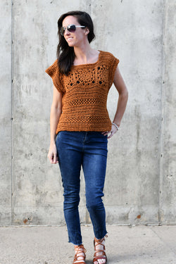 Crochet Kit - Sunburst Crop