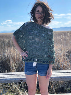 Crochet Kit - Penny Lane Poncho (Adult)