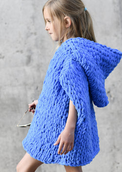 Knit Kit - Beach Hooded Cover-Up