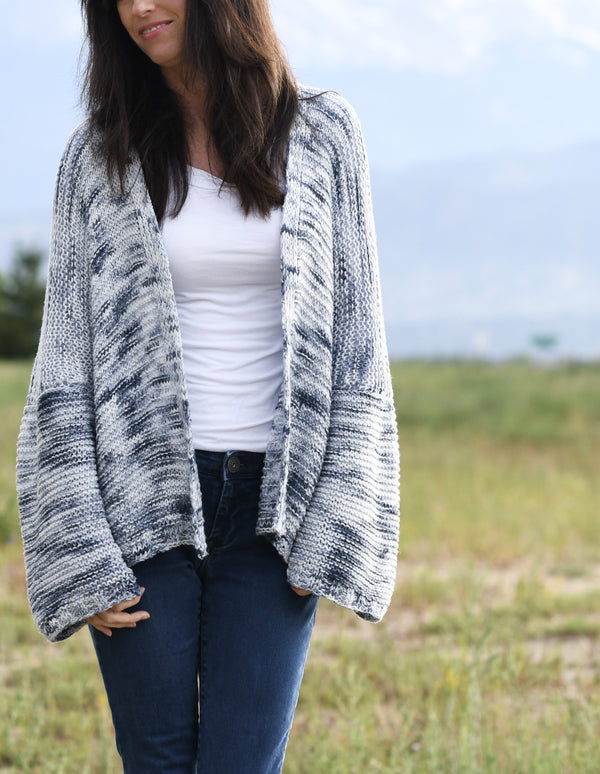 Knit Kit - Painted Sky Comfy Shrug