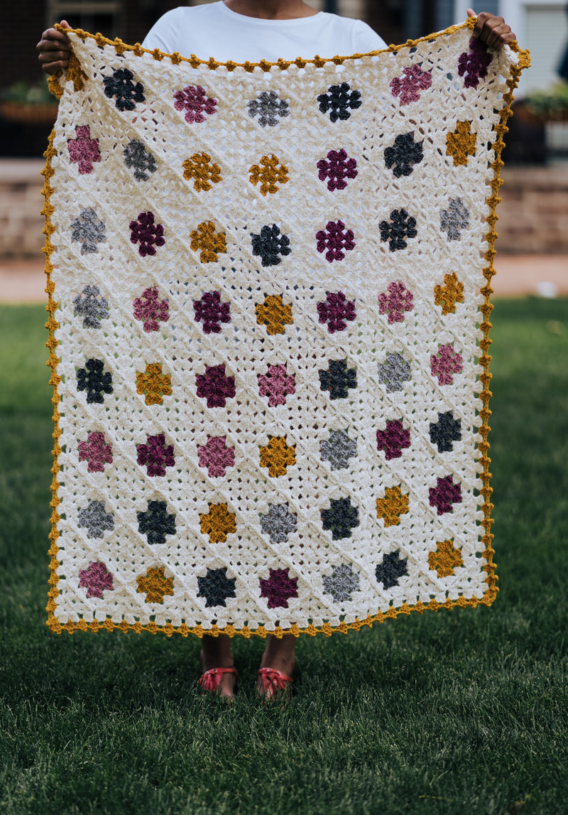 Crochet Kit - Sweet Granny Baby Blanket