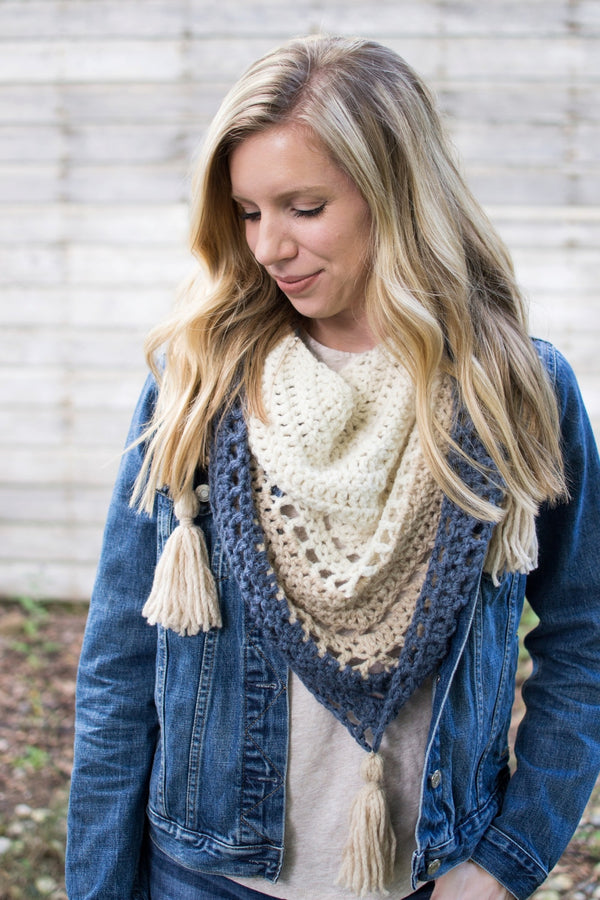 Crochet Kit - Balance Shawl