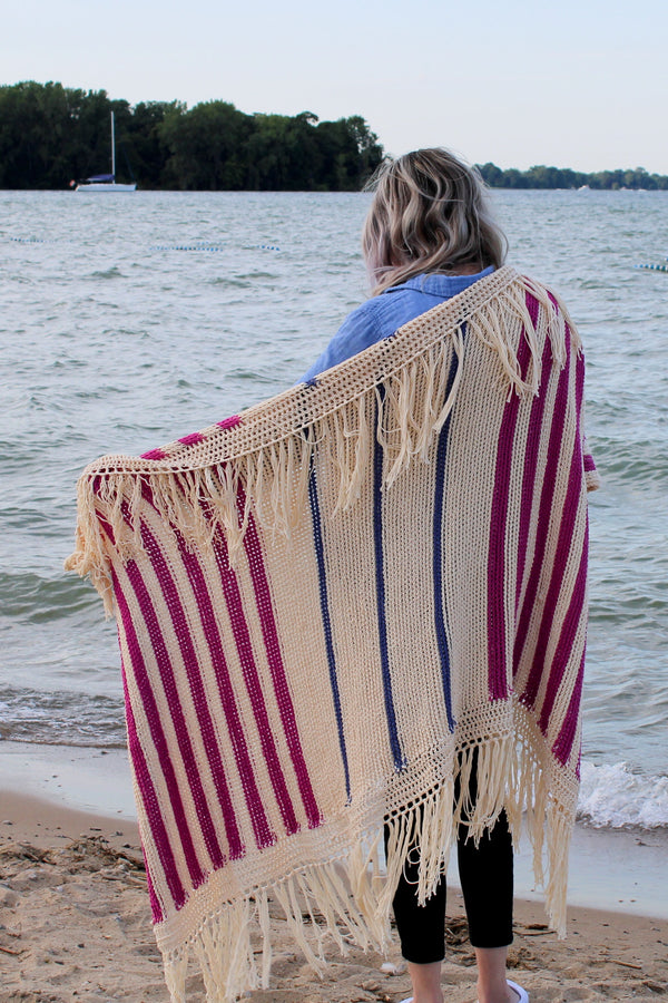 Crochet Kit - Lake Louise Throw