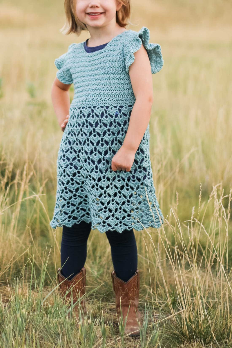Crochet Kit - Idlewild Dress (Child)