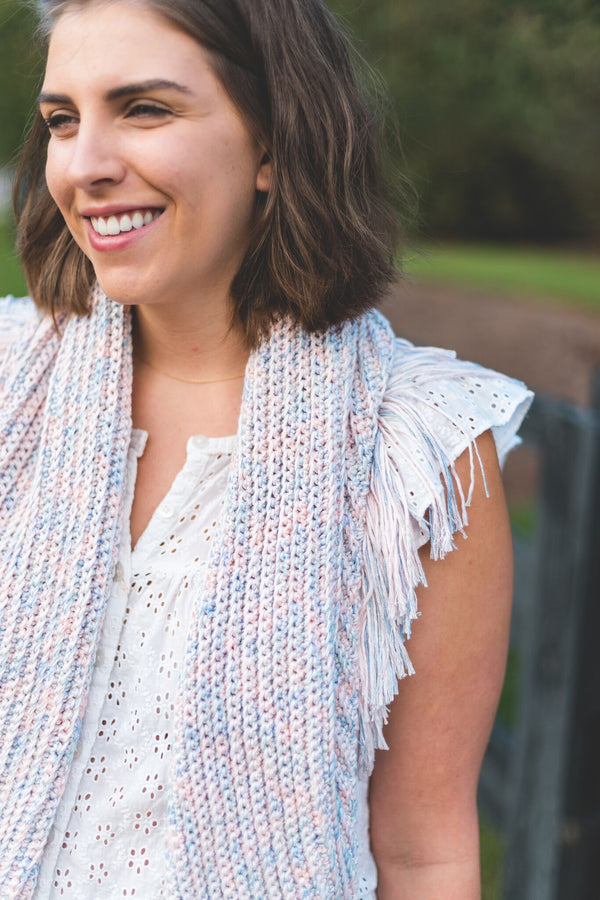 Crochet Kit - Glimmer Shawl